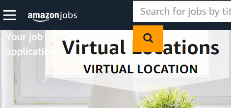 work from home with amazon jobs